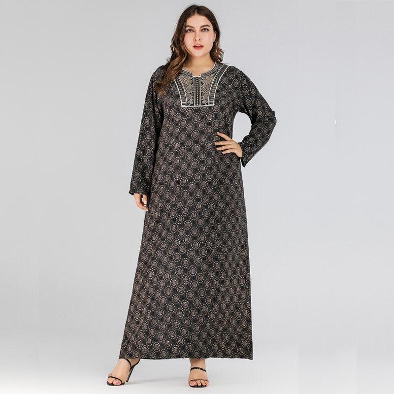 Muslim Sukienka Maxi Long Morrocan Dress Hijab Abaya Arabic Kaftan Caftan Dubai Burca Islamica Abayas For Women Islamic Dresses