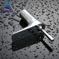 COROTO Single Handle Bathroom Faucet Hot Sale Cold And Hot Water Mixer Products Chrome Finished Decoration For Basin Faucets