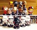 10 cm funko pop figura de ação star wars yoda kylo ren bb8 BB-8 BB 8 Darth Maul Darth Vader Stormtrooper Storm Trooper Boba Fett