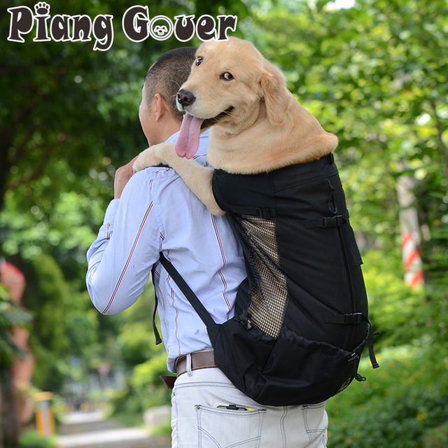 5e8f2b590a Dog Bag Carrier Pet Backpack For Large Medium Small Dogs Breathable Travel Cat  Carriers Bags
