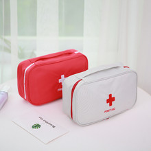 Portable First Aid Kit Creative Travel Accessories Emergency Drug Cotton Fabric Medicine Bag Pill Case Splitters Box