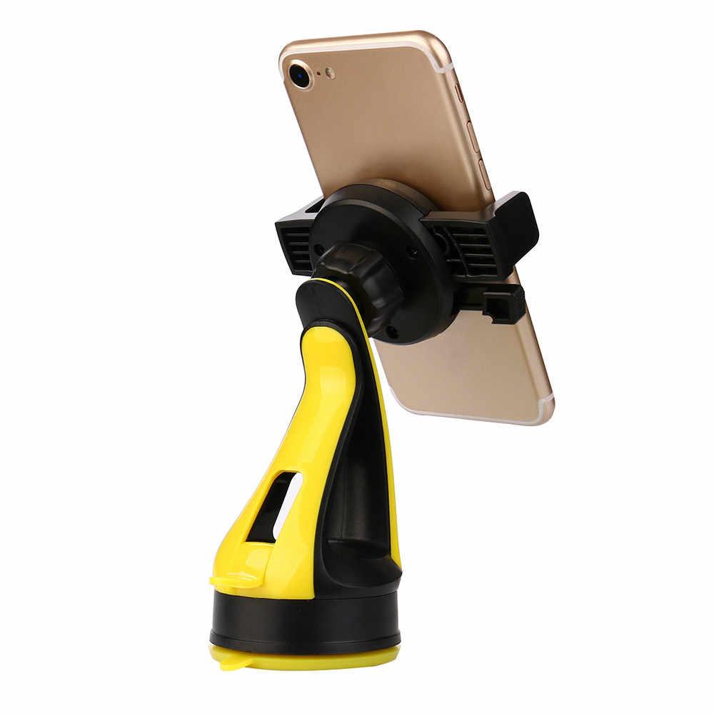 360 תואר לסובב בעל מכונית הר סוגר הכבידה פרייר מחזיק טלפון לרכב עבור טלפון סמסונג GPS טלפון סלולרי