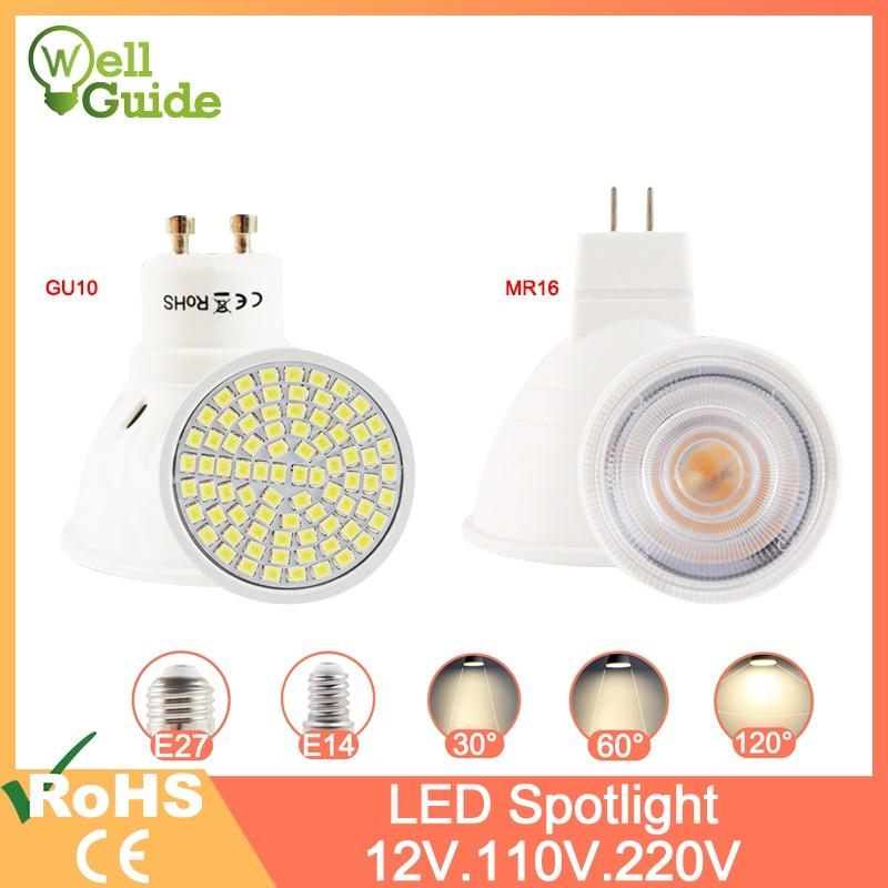 VINSUN LED GU5.3 MR16 12V GU5.3-4x LED MR16 warmweiss 3W LED Lampen MR16