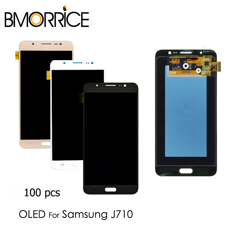 Digitizer-Assembly-Replacement 100pcs Lcd-Display Touch-Screen J710M Samsung Galaxy