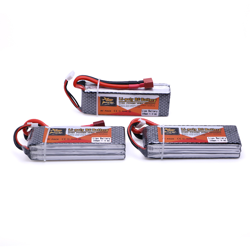 3 pcs Lipo Battery 11.1V 2200mAh 40C for RC Trex 450 Fixed-wing Helicopter Quadcopter Airplane Car Lipo 3s Bateria xxl rc lipo battery 2200mah 11 1v 3s 30c for trx 450 rc fixed wing helicopters airplanes cars