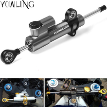 купить CNC Damper Steering StabilizerLinear Reversed Safety Control Mount for BMW R1200GS R1200CL R1200 CL GS ADV 2013 2014 2015 2016 дешево