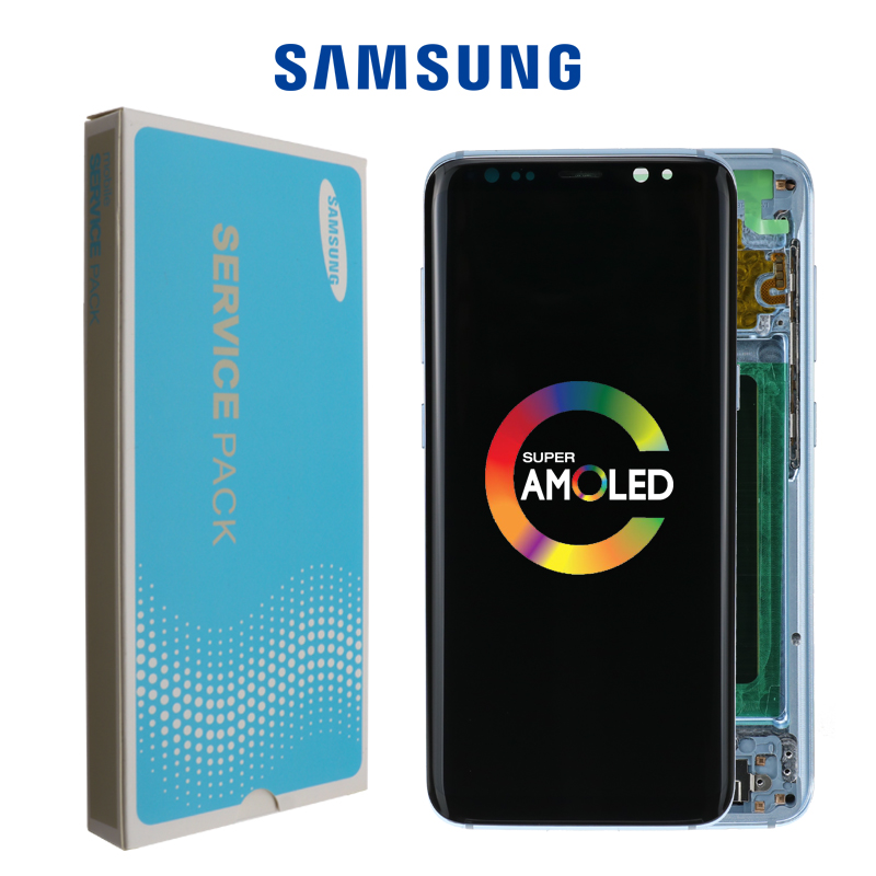 Super AMOLED For Samsung Galaxy S8 S8 Plus G950 G950F G955fd G955F Burn-in Shadow Lcd Display With Touch Screen Digitize
