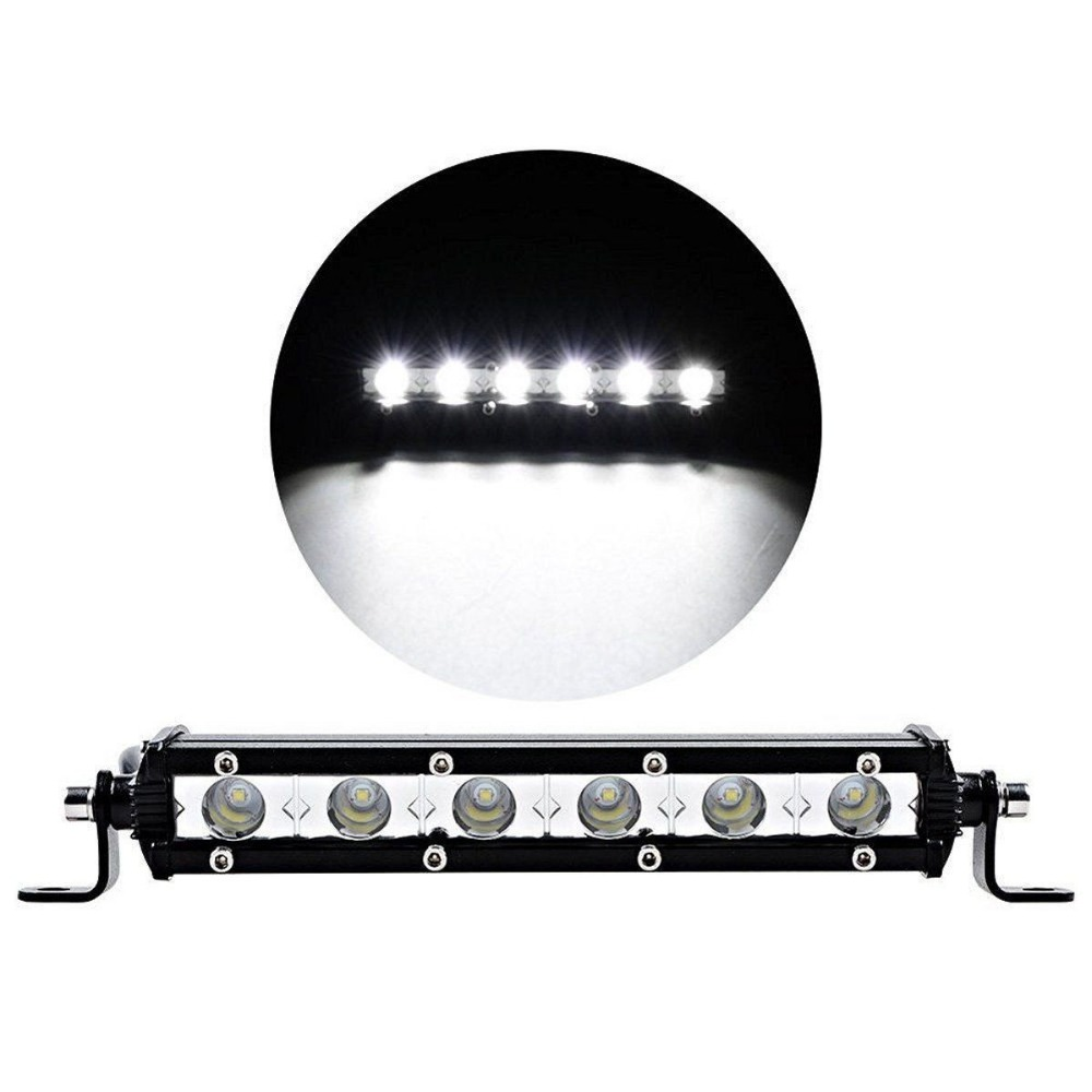 iSincer 18W Car LED Work Light Bar led Chips Waterproof Offroad Car Work Bulb headlight ATV SUV 4WD Boat Truck for Jeep BMW atreus 50w 7 led spot light with remote control searching lights for jeep suv truck hunting boat camp lamp bulb car accessories