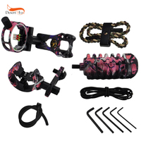 Archery Combo Bow Accessories Sight Kits Arrow Rest Stabilizer Compound Hunting Bow Accessories in 5 Colors