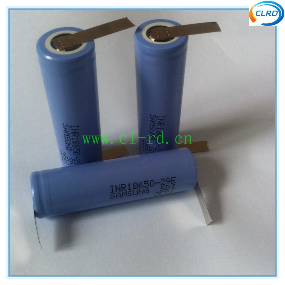 Baterias Recarregáveis abas de solda para diy Definir o Tipo DE : Apenas Baterias