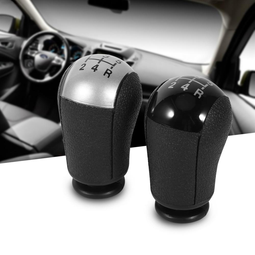 Perilla de caja de cambios MT de 5 velocidades para coche, S-MAX Mondeo MK3 para Ford Focus, color negro/gris, 2 colores para elegir, pomo