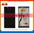 Original For Nokia Lumia 720 Lcd Display Touch Screen Digitizer With Frame Assembly Complete Free Shipping.