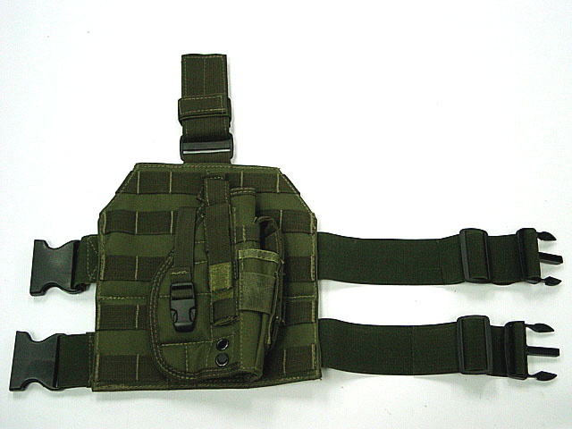 WOLF ENEMY Tactical Gun Holster Molle Modular Pistol Holster with Magazine Pouch for Right Handed Shooters 1911 45 92 96 Glock high quality gun holster military waist safarland 6335 1911 holster tactical gun holster