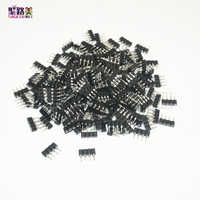 100pcs/200pcs/500pcs/1000pcs 4pin RGB connector 4 pin needle male to female type double 4pin DIY connect for 5050 RGB led strip