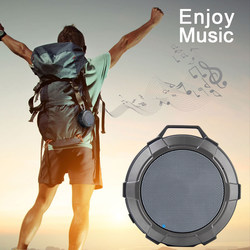 Portable Bluetooth Speaker Powerful Wireless VS Anker SoundCore 2 IPX5 With Mic Waterproof Blutooth Shower Speakers Vibration