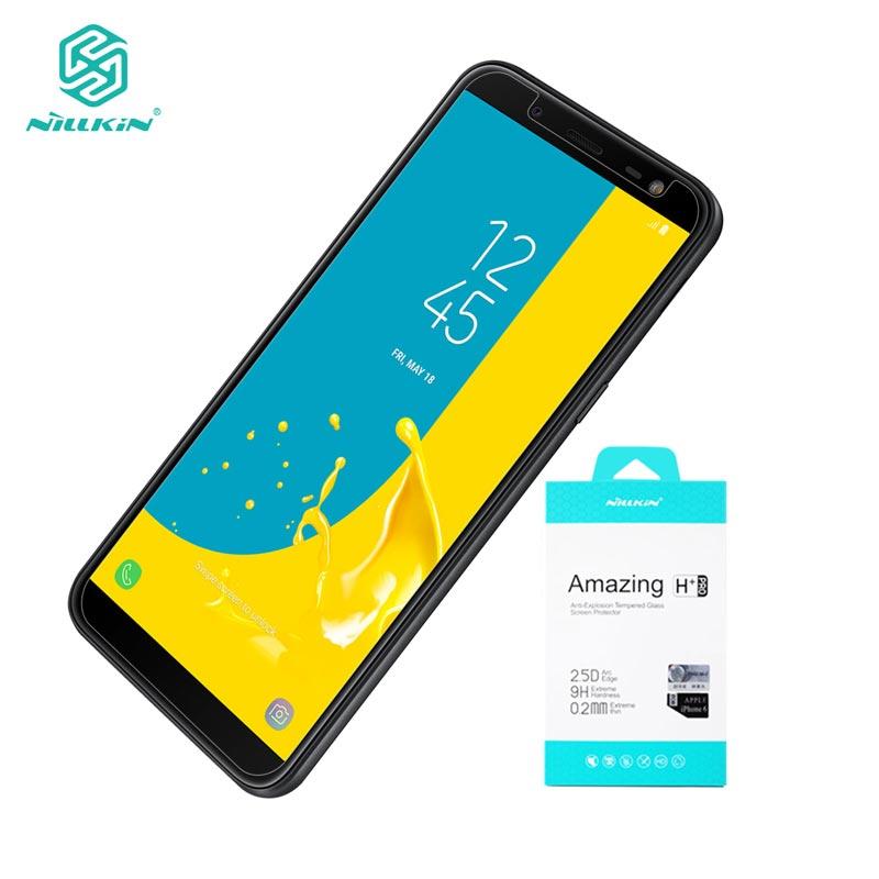Per Samsung J6 2018 Vetro Temperato sFor Samsung On6 Protezione Dello Schermo di Vetro Nillkin Incredibile H + Pro 0.2mm per galaxy J6 SM-J600F