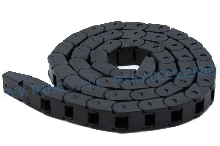 Cable Chain 10*10 10*15 <font><b>10*20</b></font> mm 1M Non Snap-Open Plastic Towline Transmission Drag Chain Machine 3D printer image