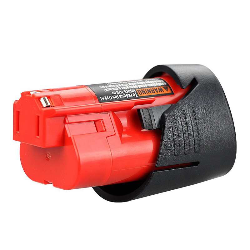<font><b>12V</b></font> <font><b>1.5Ah</b></font> Lithium-Ion Replacement <font><b>Battery</b></font> for Milwaukee M12 48-11-2440,48-11-2402,48-11-2411,M12 XC Lithium-Ion Cordless Tools image