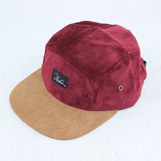 2509ec0206d08 Corduroy suede 5 panel snapback hats five panel baseball cap for men women  outdoor sports hip hop gorras hat casquette