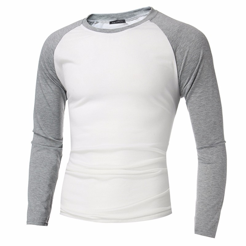 Buy Incerun 2017 Mens Long Sleeve T