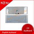 English keyboard FOR  Sony VAIO VPC-EG VPCEG Series WITH FRAME US keyboard WHITE