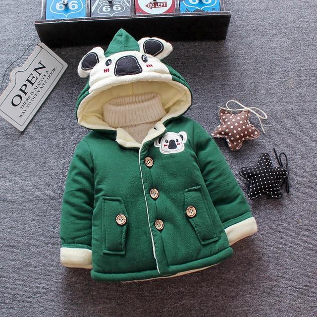 84d580af8 Aliexpress.com   Buy 2018 Winter Baby Girl Boy Coats Infant Coats ...