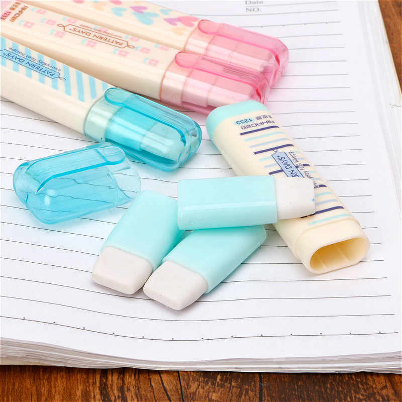 Hohe Qualität Schreibwaren Kreative Radiergummi Abnehmbare Kombination Gummi Radiergummi Student Schule Liefert Kinder Geschenk Material