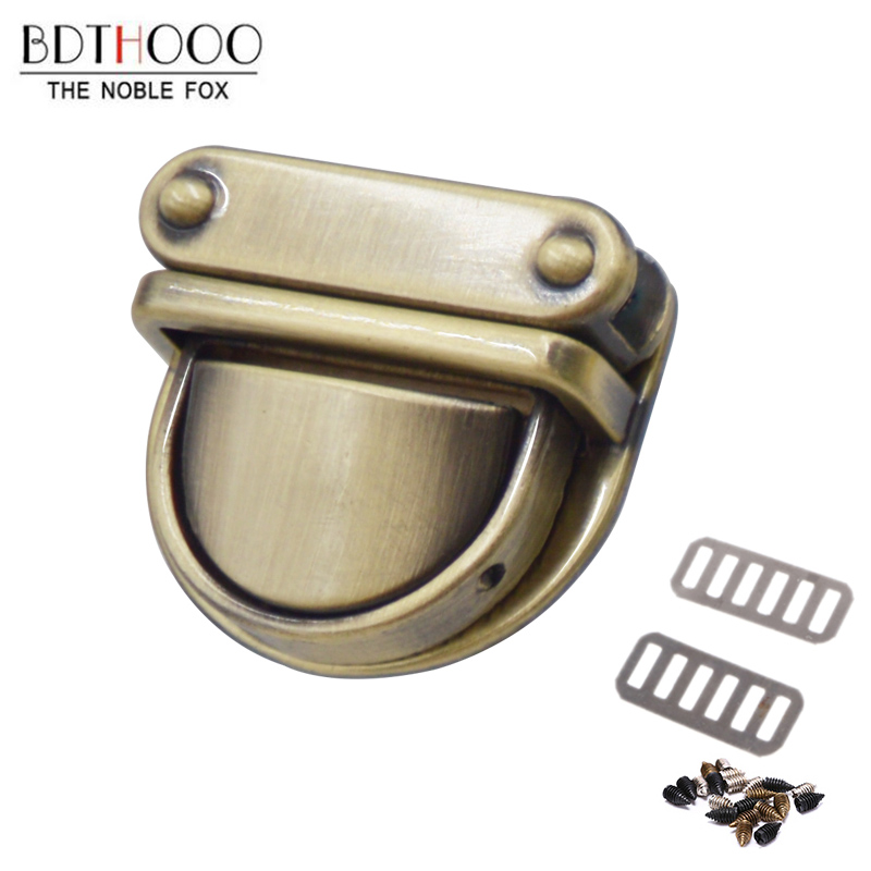 BDTHOOO Bag Parts 1Pcs Metal Clasp Turn Lock Twist Lock For DIY Handbag Women Bag Purse Hardware Closure Bag Parts Accessories