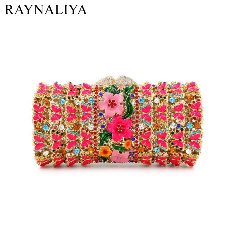 Beautiful Red Crystal Evening Bags Flowers Rhinestone Crystal Clutch Bag For Women Fashionable Clutches Purse SMYZH-E0310Beautiful Red Crystal Evening Bags Flowers Rhinestone Crystal Clutch Bag For Women Fashionable Clutches Purse SMYZH-E0310
