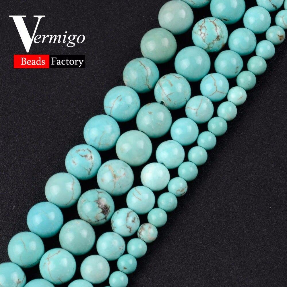 Бесплатная доставка, натуральные драгоценные камни, гладкие искусственные круглые бусины, свободные бусины, женский браслет 15 дюймов, 4-10 мм...
