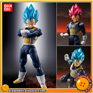 """Dragon Ball Z"" Original BANDAI SPIRITS Tamashii Nations S.H.Figuarts SHF Exclusive Action Figure Super Saiyan God SS Vegeta 2.0(China)"