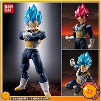 Dragon Ball Z Original BANDAI SPIRITS Tamashii Nations S.H.Figuarts SHF Exclusive Action Figure Super Saiyan God SS Vegeta 2.0