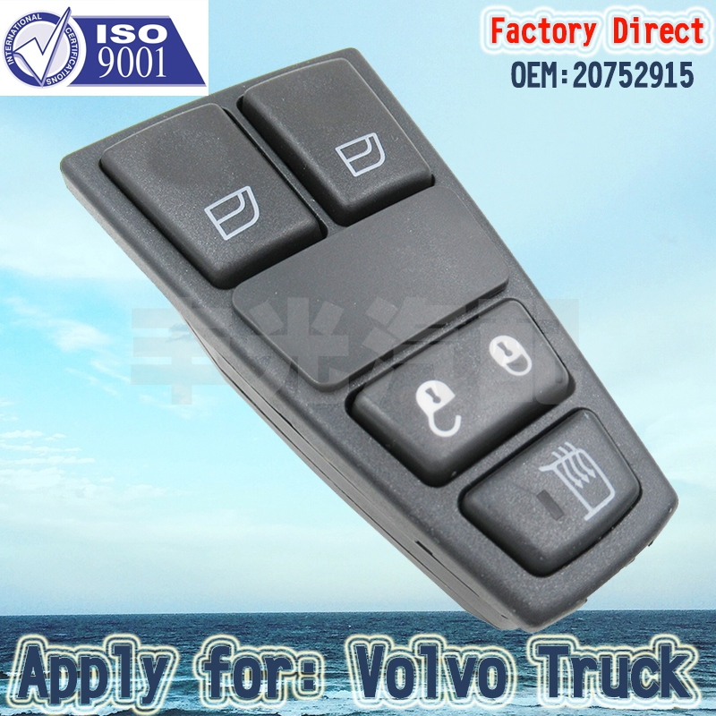 Factory Direct Door Control Switch DOOR SWITCH STANDARD ELECTRIC Apply For VOLVO FM/FH Truck Parts 20752915