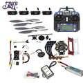 JMT DIY FPV Drone Quadcopter 4-eje aviones Kit 450 marco PXI PX4 de Control de vuelo 920KV Motor GPS FS-i6 transmisor