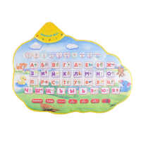 Musical Kids Children Play Mats Playmat With Russian Language Alphabet Books Electronic Newborn Learning Educational Baby Toys
