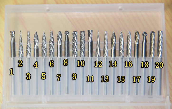 20pcs Set Milling Drill Tungsten Steel Sharp Cemented Carbide Rasp Carve Drill Electric Grinding Carving Tools Milling Cutter hot sale20 x tungsten steel solid carbide burrs for rotary drill die grinder carving
