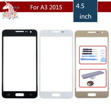 For Samsung Galaxy A3 2015 A300 A300H A300M A300F Front Outer Glass Lens Touch Screen Panel Replacement цена