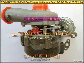 Turbocompresseur GT1849V 705204-0002 717626 S 5001 | Nouveau turbocompresseur 717626 pour Opel Vectra C Signum pour Saab 9-3 I 9-5 2,2l Y22DTR 2002
