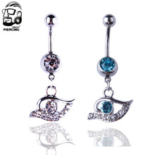 Buy Evil Eye Belly Ring And Get Free Shipping On Aliexpress Com