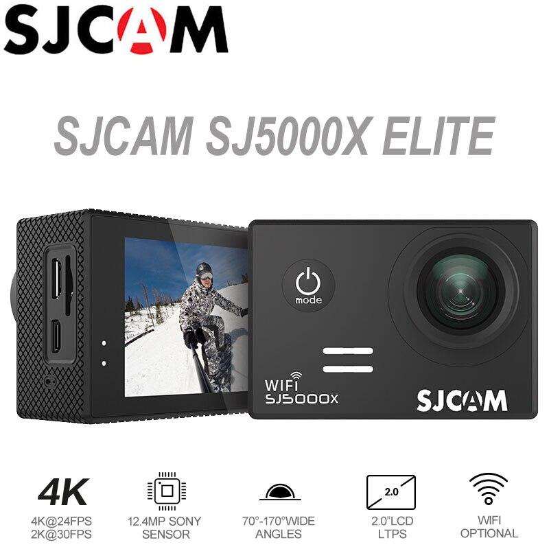 Acción Cámara sjcam SJ5000X Elite 4 K WiFi deporte DV submarino impermeable 1080 p HD NTK96660 2.0 pantalla LCD original SJ CAM SJ5000