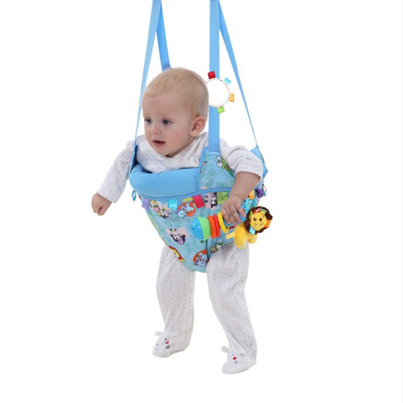 Toddler 40LBS Indoors Baby Swing Infant Jumping Training Toy Fitness Swings Walker Jumpers <font><b>Bouncers</b></font> for Kids Age 6-36 month T
