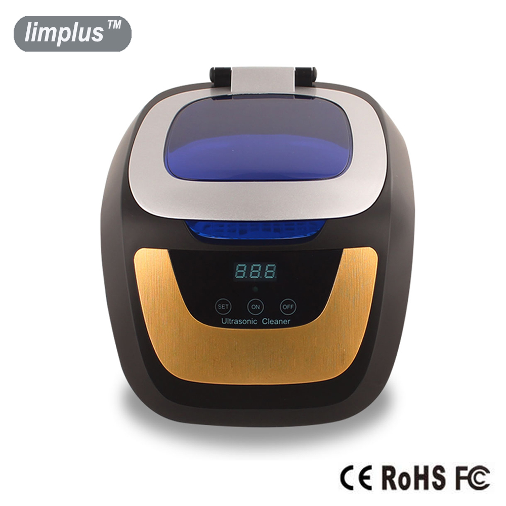 Limplus 750ml Ultrasonic Cleaner 50W Touch Control Panel Mini Ultrasound Bath Machine Cleanning Jewellery Watch Glasses Denture 0 75l 50w household digital ultrasonic cleaner bath fruit glasses cd jewelry denture watch shaver head ultrasound timer tank