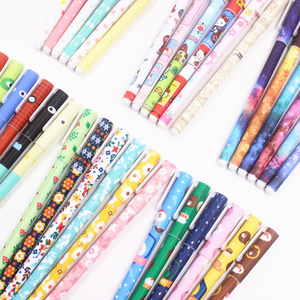 Image 5 - Jonvon Satone 60 Adet (10 takım) sevimli Kalemler 0.38mm Jel Kalemler Yıldızlı Yıldız Çocuk Için Jel Kalem Siyah Mürekkep Dolum Ofis Okul Malzemeleri Hediyeler