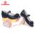 FLAMINGO new chegada da primavera & outono sapatas dos miúdos sapatas da escola para meninas de moda clássico de alta qualidade 52-QT209-1/52-QT210-1