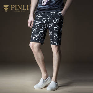 Pinli-Products Short Men Leisure Made-In-The-Summer Casual Real of Gym Print B182117378