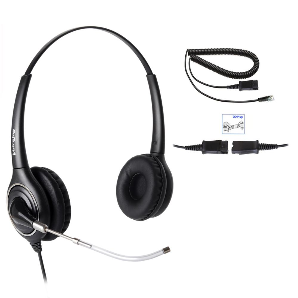 US $26 73 33% OFF|RJ9 plug headset for CISCO IP phone Call center office  headset for Cisco IP Telephone 7821 7841 7861 8841 7940 7961 9961 etc-in