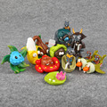 PVZ Plantas vs Zombies 2 é Hora de Nível 3 PVC Figuras Colecionáveis Brinquedos Modelo 10 pçs/set