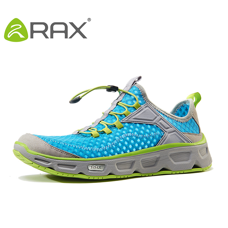 RAX Summer Men Hiking Shoes Breathable Trekking Shoes For Men Woman Mesh Hiking Sandals Outdoor Sports Sneakers Men Sandals rax 2015 mens outdoor hiking shoes breathable mesh suede trekking shoes men genuine leather sneakers size 39 44 hs25