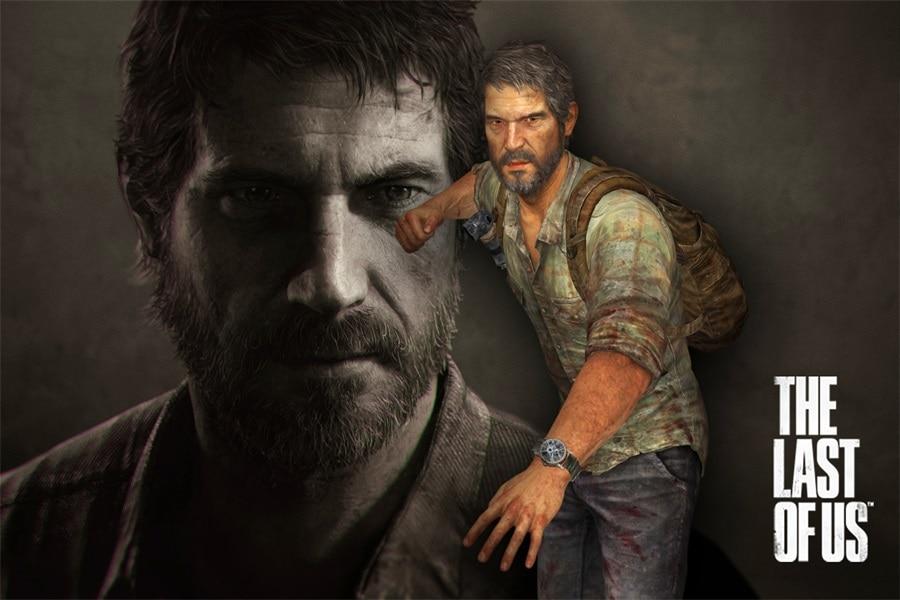 Christmas Zombie Wallpaper.Custom Canvas Art The Last Of Us Poster Last Of Us Joel