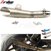 for 36 51MM Universal Motorcycle Exhaust Modified Pipe Slip on Motorbike Exhaust Pipes for Triumph Tiger 800/XC,Rocket III/Clas